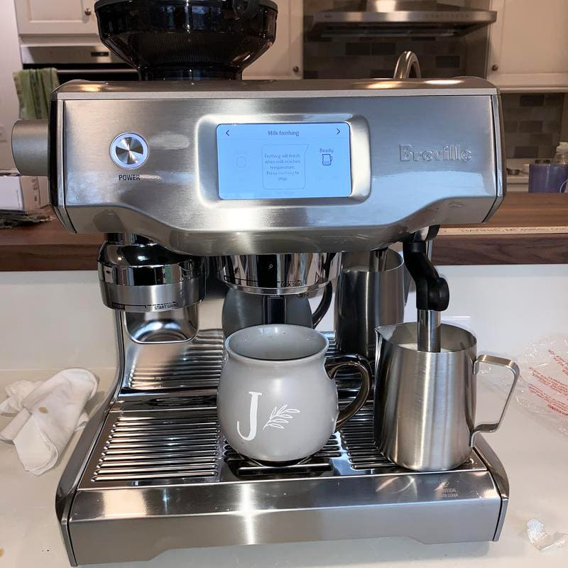 Breville Oracle Touch Interface