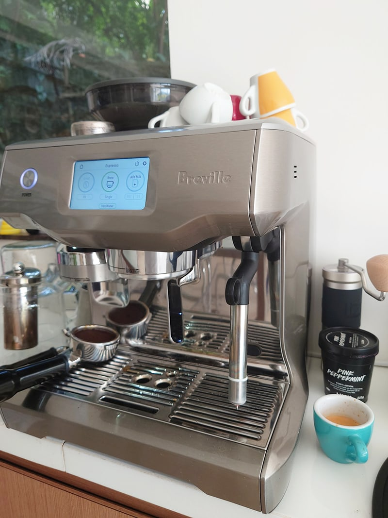 Breville Oracle Touch Programmability