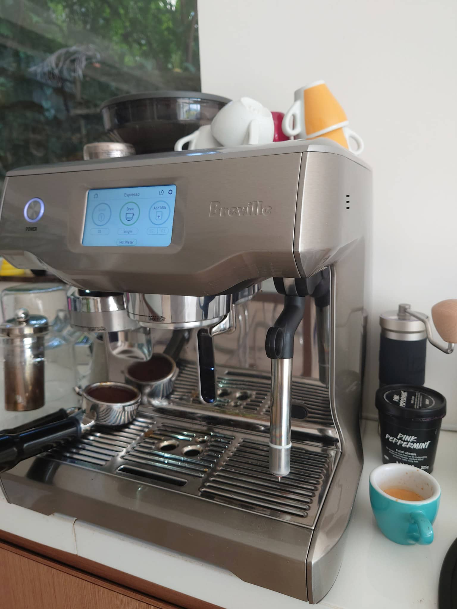 Breville Oracle Touch Tamper