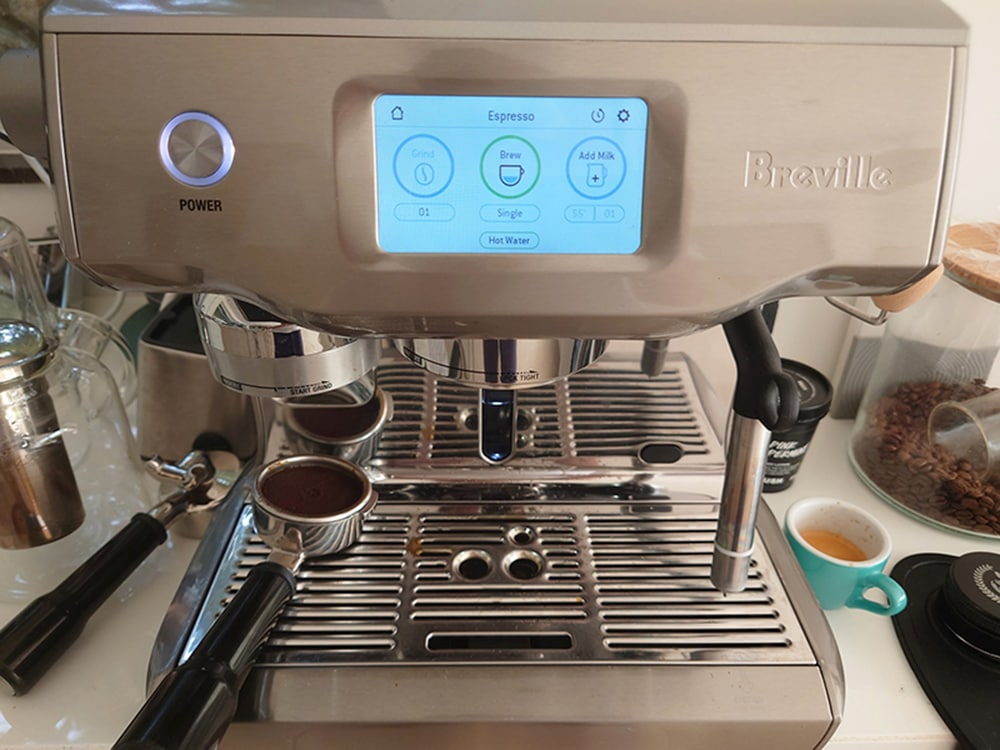 Breville Oracle Touch Temperature Controls