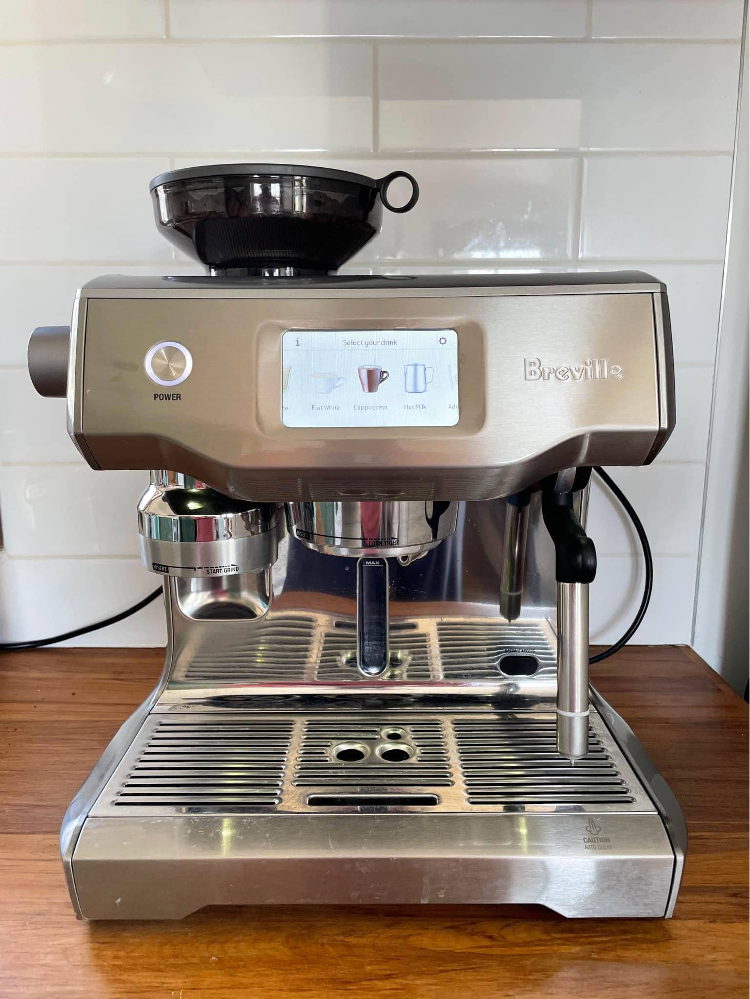 Breville Oracle Touch Usability