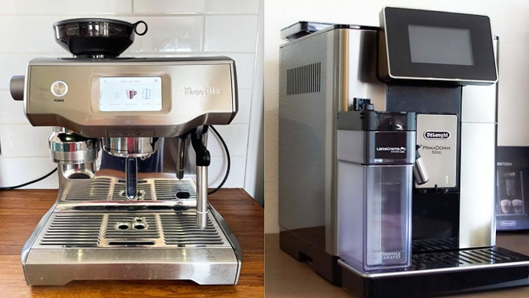 Breville Oracle Touch vs DeLonghi Prima Donna Review