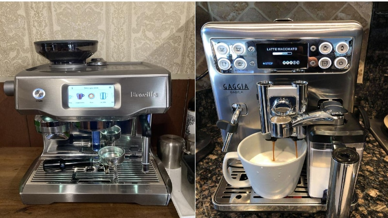 Breville Oracle Touch Vs Gaggia Babila: Top 4 Contrasts
