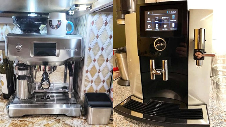 Breville Oracle Touch vs Jura S8: Which Is The Best Option?
