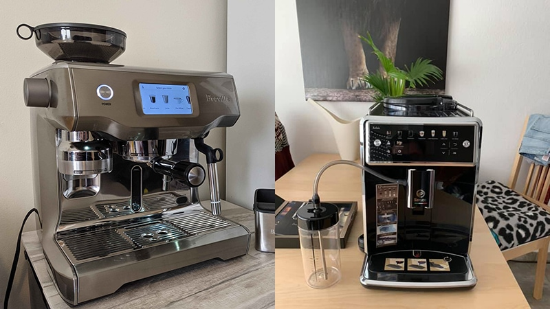 Breville Oracle Touch vs Saeco Xelsis: Which Is Better?