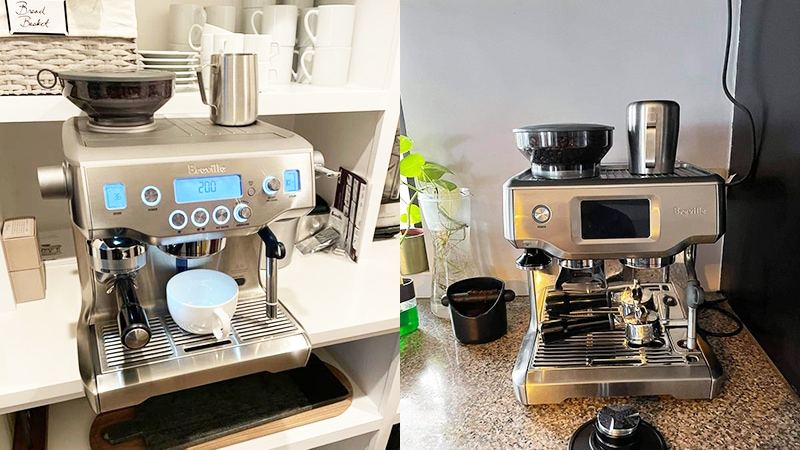 Breville Oracle vs Barista Touch: What Makes Both Worthy?