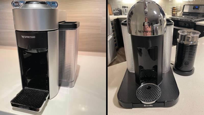Delonghi Vs Breville Nespresso Vertuoline: 2 Compact Designs