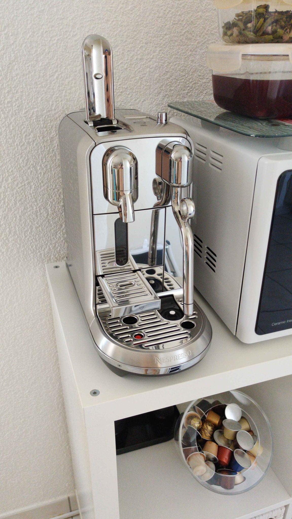 Nespresso Creatista Dimensions