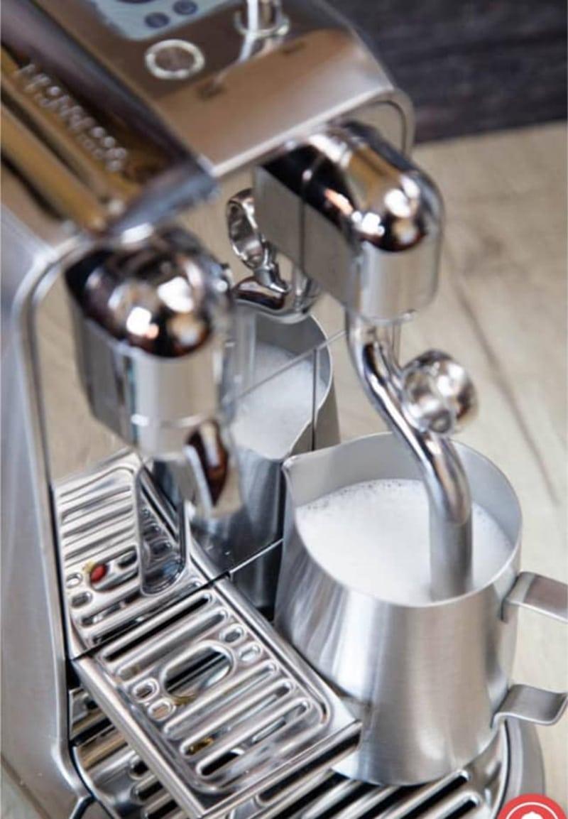 Breville Nespresso Creatista Plus Milk Frothing