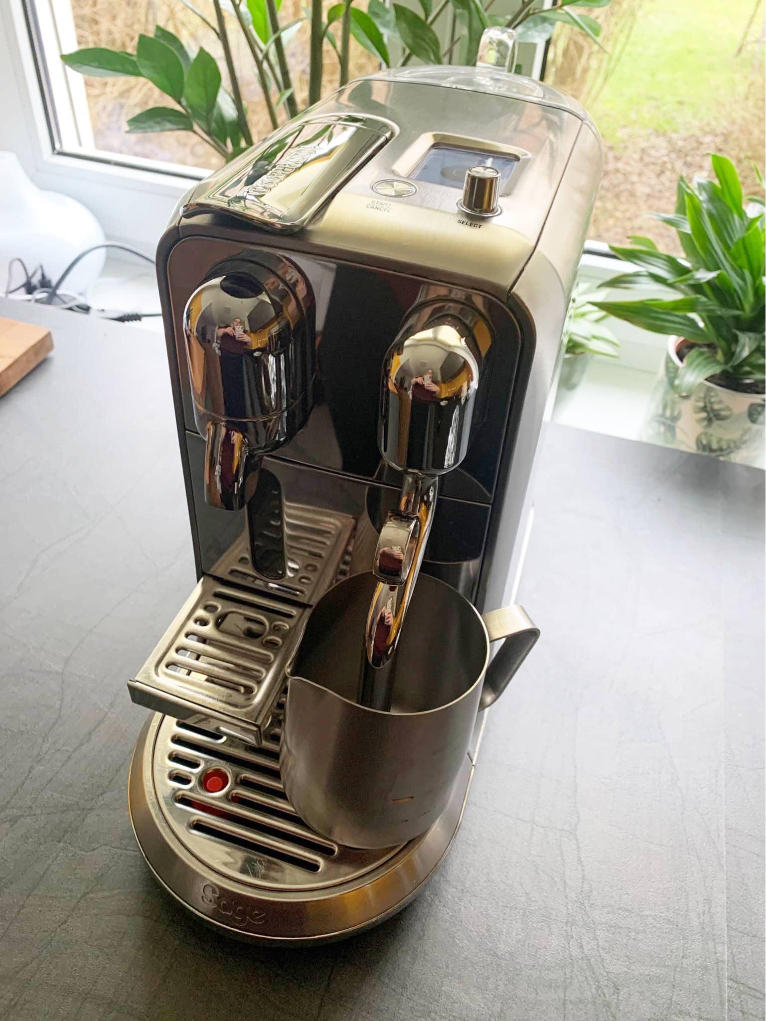 Breville Nespresso Creatista Plus Milk Temperature Settings