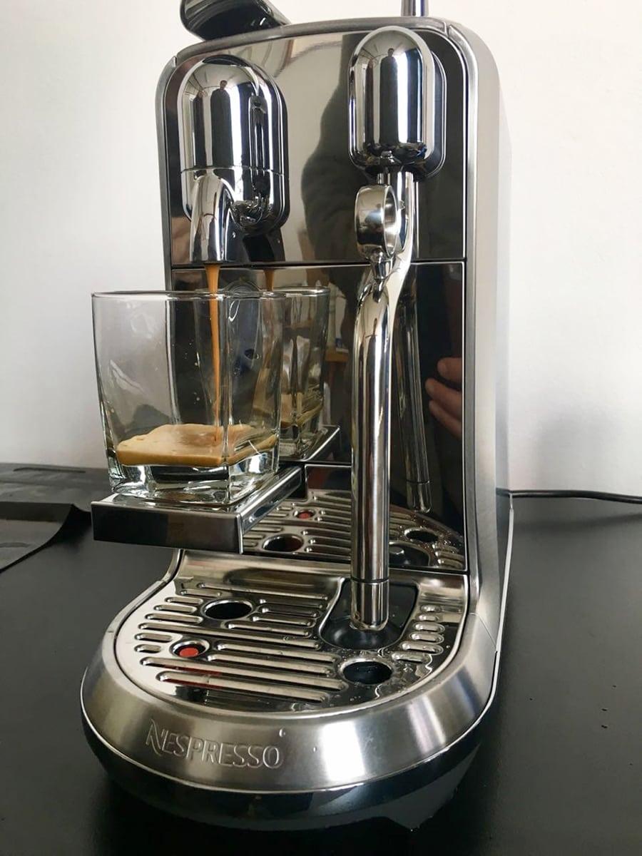 Nespresso Creatista Programmability